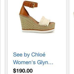 NEW!! See By Chloé Wedges